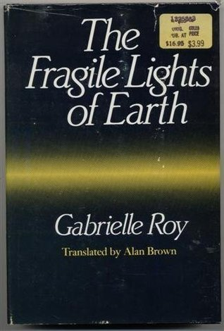 The fragile lights of earth written by Alan Brown