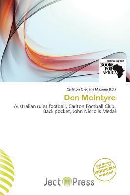 Don McIntyre written by Carleton Olegario M. Ximo
