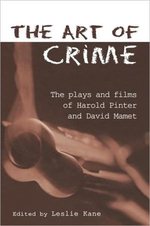 The Art of Crime book written by Leslie Kane