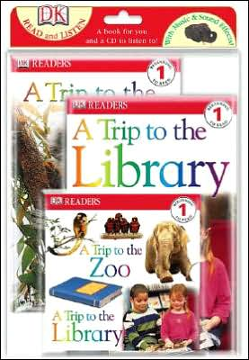 A Trip to the Zoo and A Trip to the Library book written by Karen Wallace