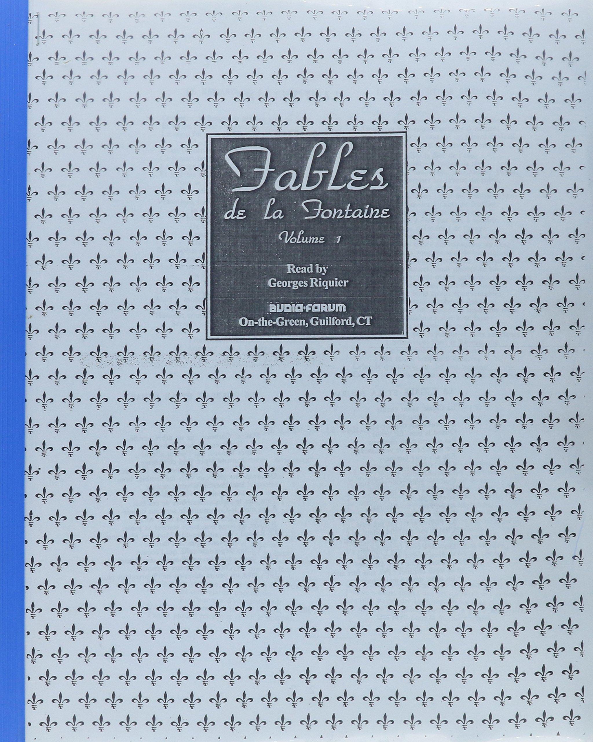Fables de La Fontaine, Vol. 1 book written by Jean de La Fontaine