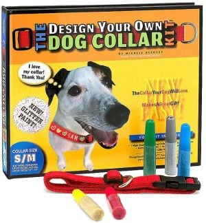 Design Your Own Dog Collar Kit (Glitter Version, S/M Collar Size) book written by Michele Bledsoe