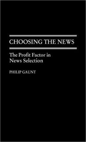 Choosing the news book written by Philip Gaunt