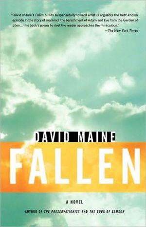 Fallen book written by David Maine