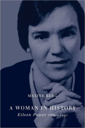 A woman in history book written by Maxine Berg