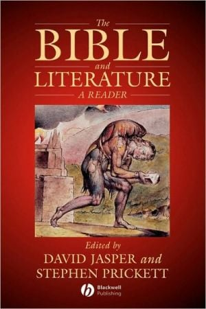 Bible and Literature book written by David Jasper
