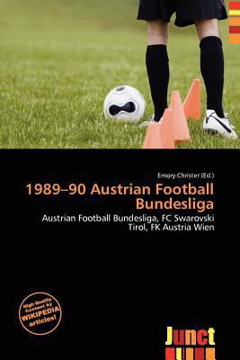 1989-90 Austrian Football Bundesliga written by Emory Christer