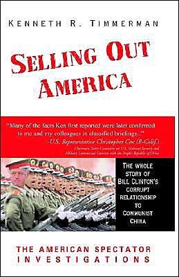 Selling out America book written by Kenneth R. Timmerman