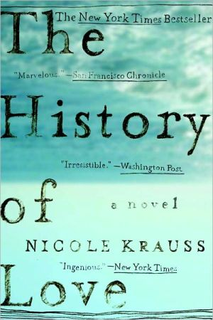 The History of Love book written by Nicole Krauss