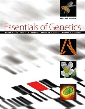 Essentials of Genetics book written by William S. Klug