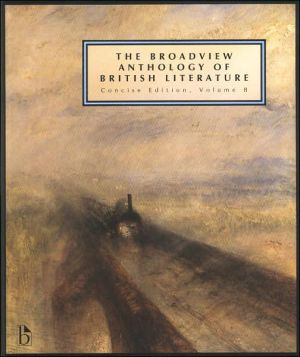The Broadview Anthology of British Literature book written by Joseph Black