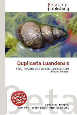 Duplicaria Luandensis written by Lambert M. Surhone