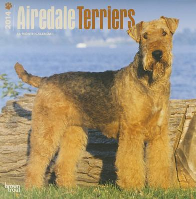 Airedale Terriers 2014 18-Month Calendar book written by Browntrout Publishers