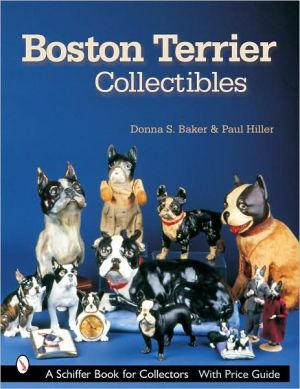 Boston Terrier Collectibles book written by Donna S. Baker