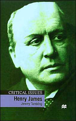 Henry James book written by Jeremy Tambling