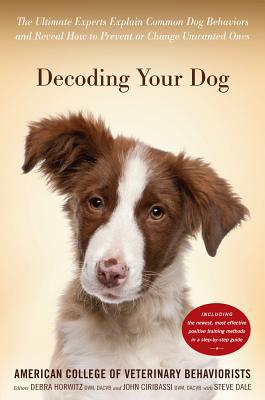 Decoding Your Dog book written by American College of Veterinary Behaviori