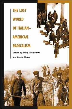 The Lost World of Italian-American Radicalism book written by Gerald Meyer