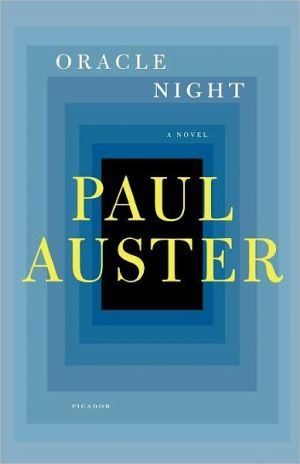Oracle Night book written by Paul Auster