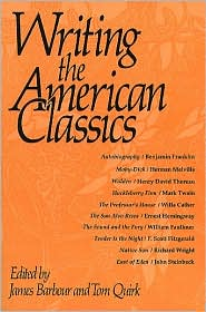 Writing the American classics book written by James Barbour and  Tom Quirk