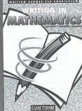 Writing in Mathematics written by Globe Fearon