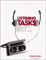 Listening tasks for intermediate students of American English written by Sandra Schecter
