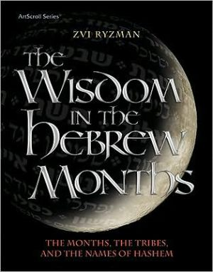 The Wisdom in the Hebrew Months: The Months, the Tribes, and the Names of Hashem book written by Zvi Ryzman