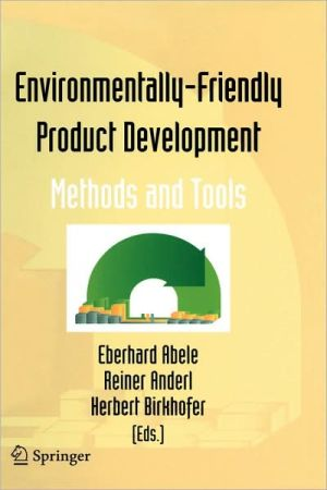 Environmentally-Friendly Product Development book written by Eberhard Abele