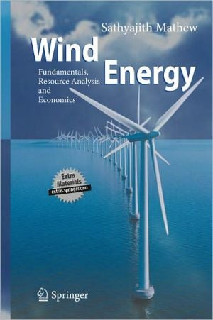 Wind Energy book written by Matthew Sathyajith
