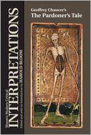 Geoffrey Chaucer's The pardoner's tale book written by Harold Bloom