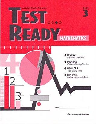 Test Ready Mathematics: Book 1 written by Curriculum Associates Staff