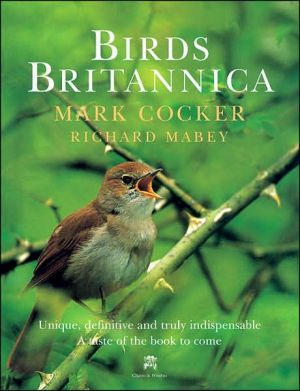 Birds Britannica book written by Mark Cocker, Richard Mabey
