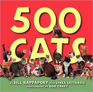 500 Cats book written by Jill Rappaport