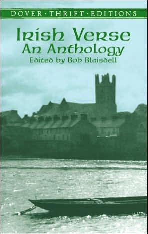 Irish Verse: An Anthology book written by Bob Blaisdell