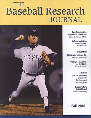 Baseball Research Journal (Brj), Volume 39 #2 written by Society for American Baseball Research