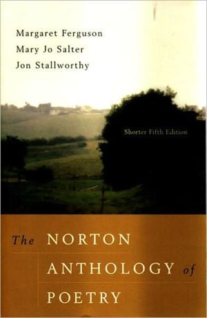 The Norton Anthology of Poetry, Shorter 5th Edition written by Margaret Ferguson