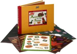 My Favorite Nature Book: Animals on the Farm: Includes an Activity Kit with Posters & Stickers book written by Sonia Goldie