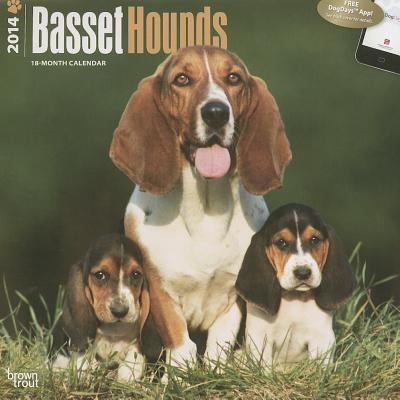 Basset Hounds 2014 18-Month Calendar book written by Browntrout Publishers