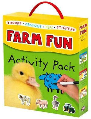 Farm Fun Activity Pack book written by Roger Priddy