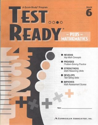 Test Ready Plus Mathematics: Book 6 written by Curriculum Associates Staff