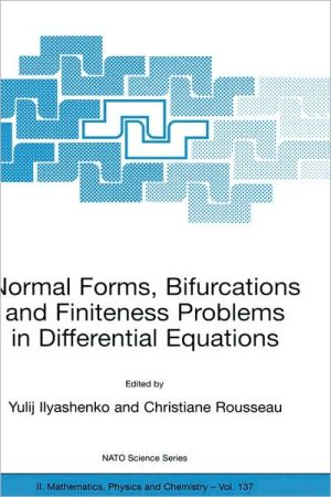 Normal Forms, Bifurcations and Finiteness Problems in Differential Equations book written by Yulij Ilyashenko