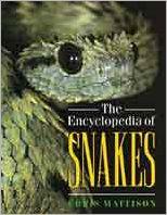 The Encyclopedia of Snakes book written by Chris Mattison