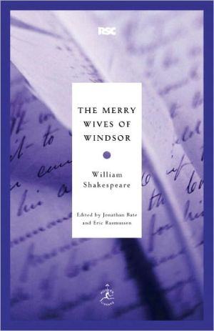 The Merry Wives of Windsor book written by William Shakespeare