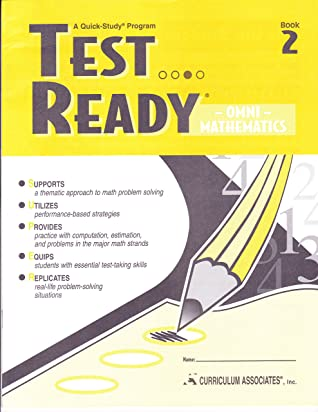 Test Ready Plus Mathematics: Advanced written by Curriculum Associates Staff
