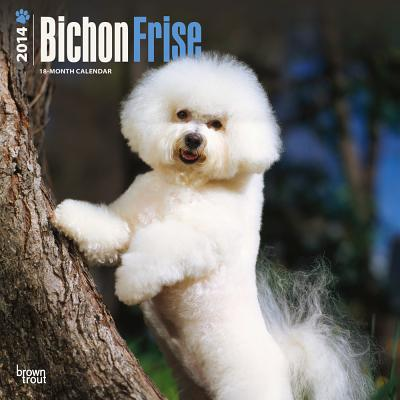 Bichon Frise 2014 18-Month Calendar book written by Browntrout Publishers