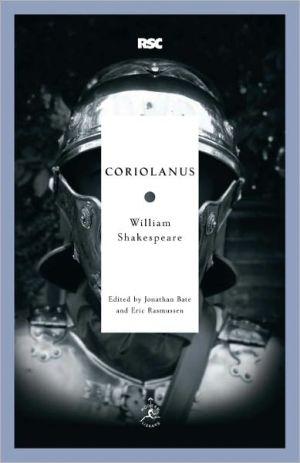 Coriolanus book written by William Shakespeare