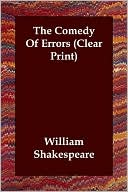 The Comedy of Errors book written by William Shakespeare