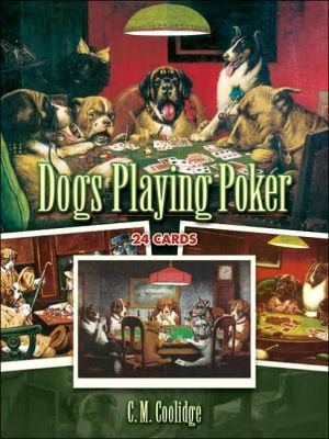 Dogs Playing Poker: 24 Cards book written by C. M. Coolidge
