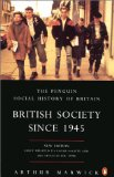 British society since 1945 book written by Arthur Marwick