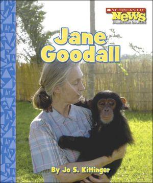 Jane Goodall book written by Jo S. Kittinger