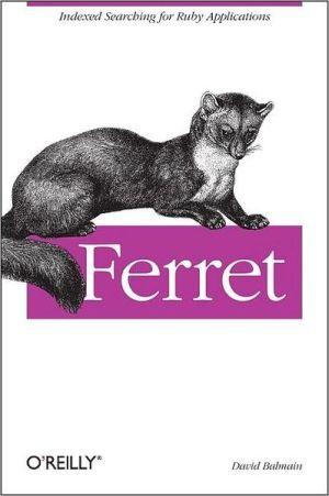 Ferret book written by David Balmain